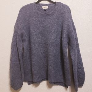 Universal Thread Blue Chunky Pullover Sweater